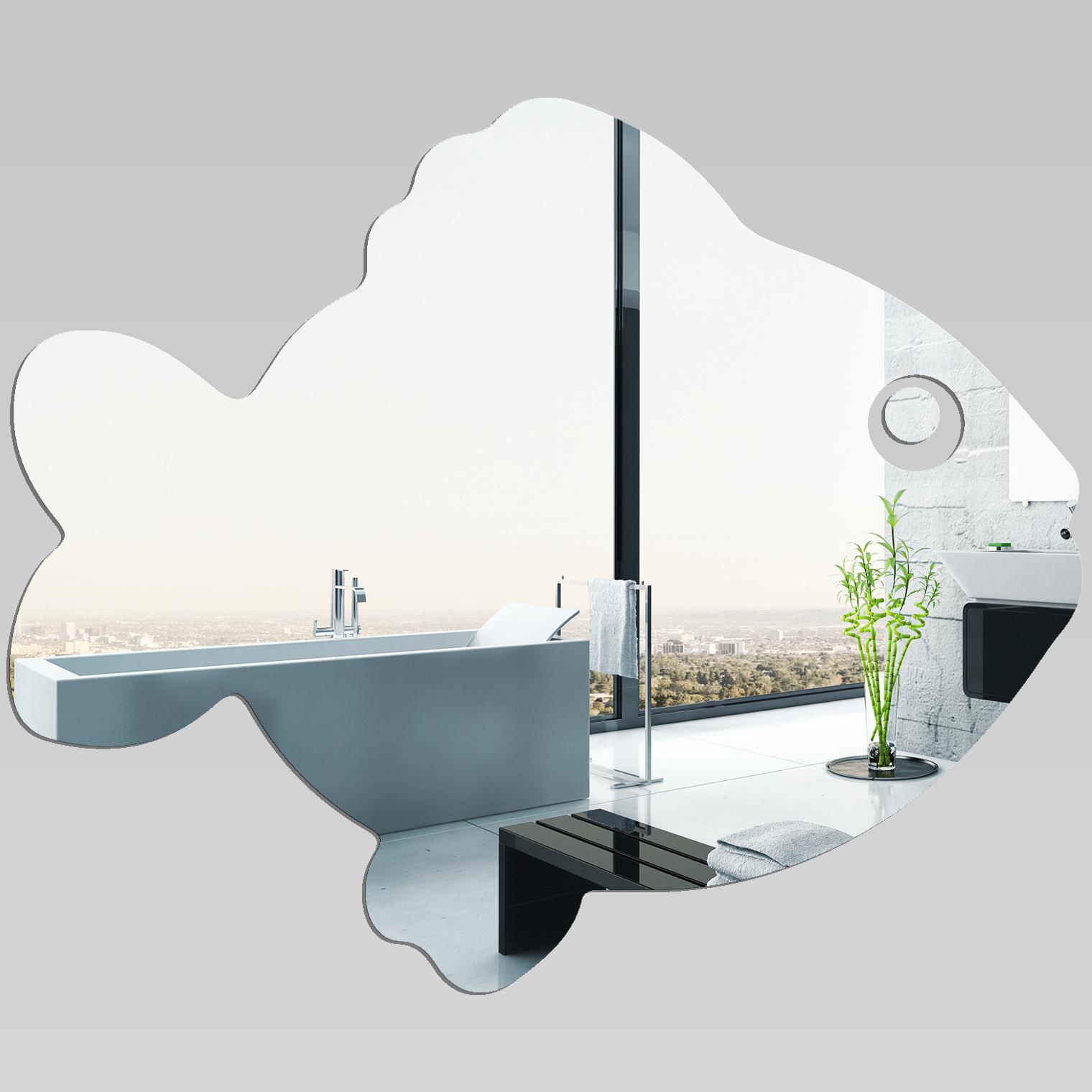 Miroir plexiglass acrylique poisson pas cher for Miroir 50x60