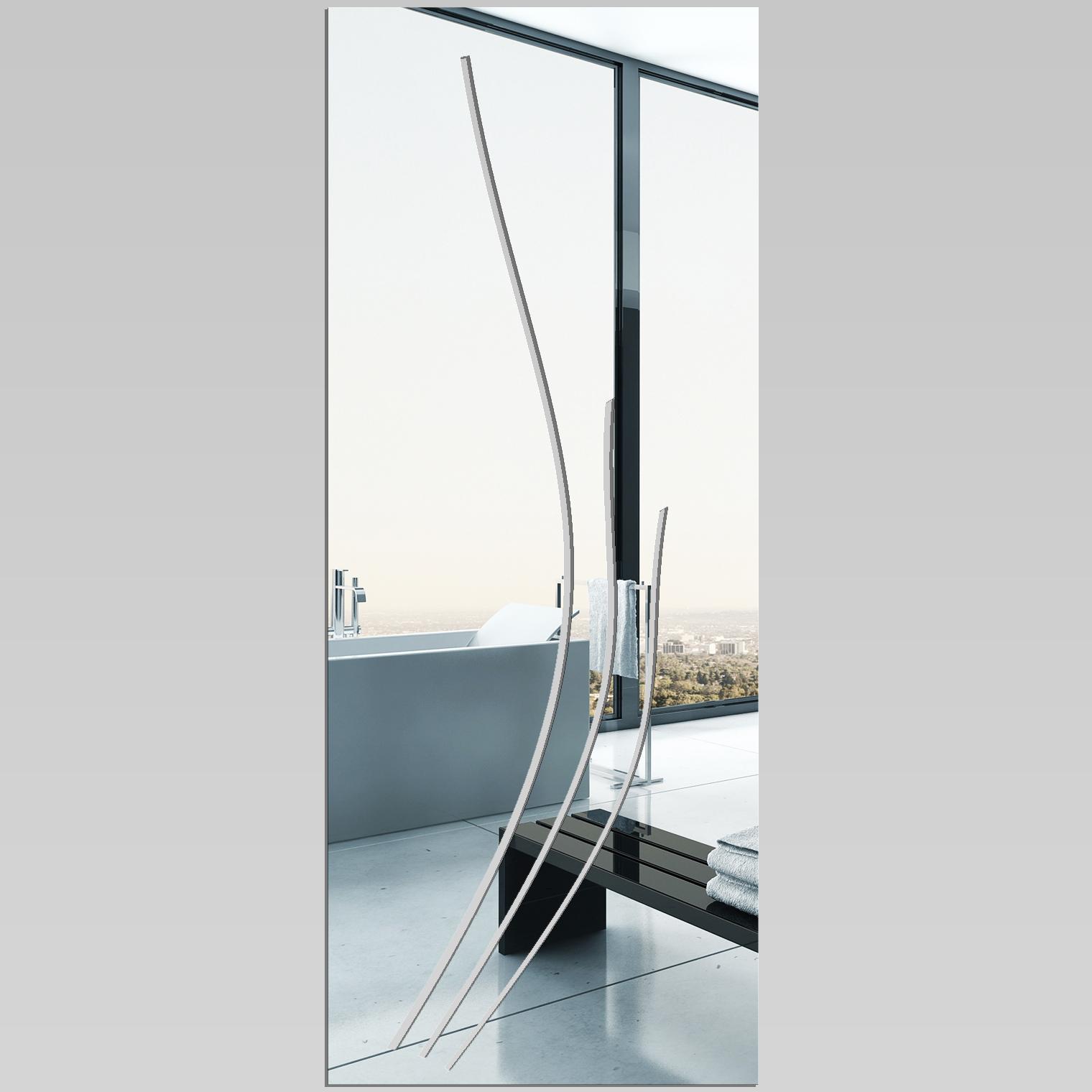 Miroir plexiglass acrylique rectange pas cher for Miroir acrylique