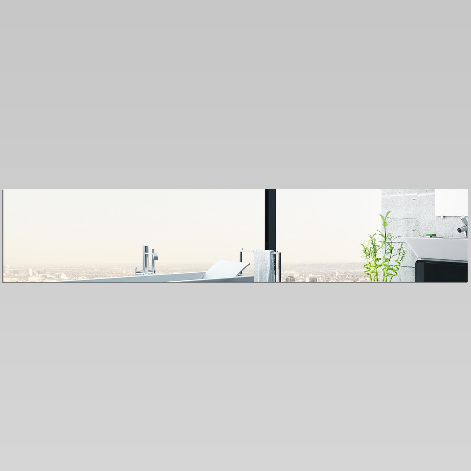 Miroir plexiglass acrylique rectange horizontale pas cher for Miroir acrylique