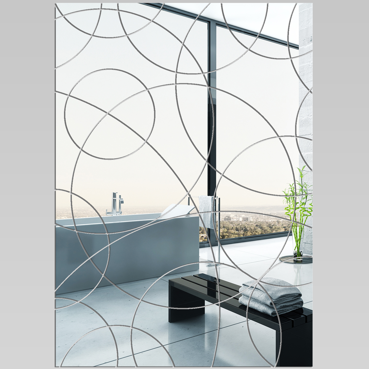 Miroir plexiglass acrylique rectangle design pas cher for Miroir en acrylique