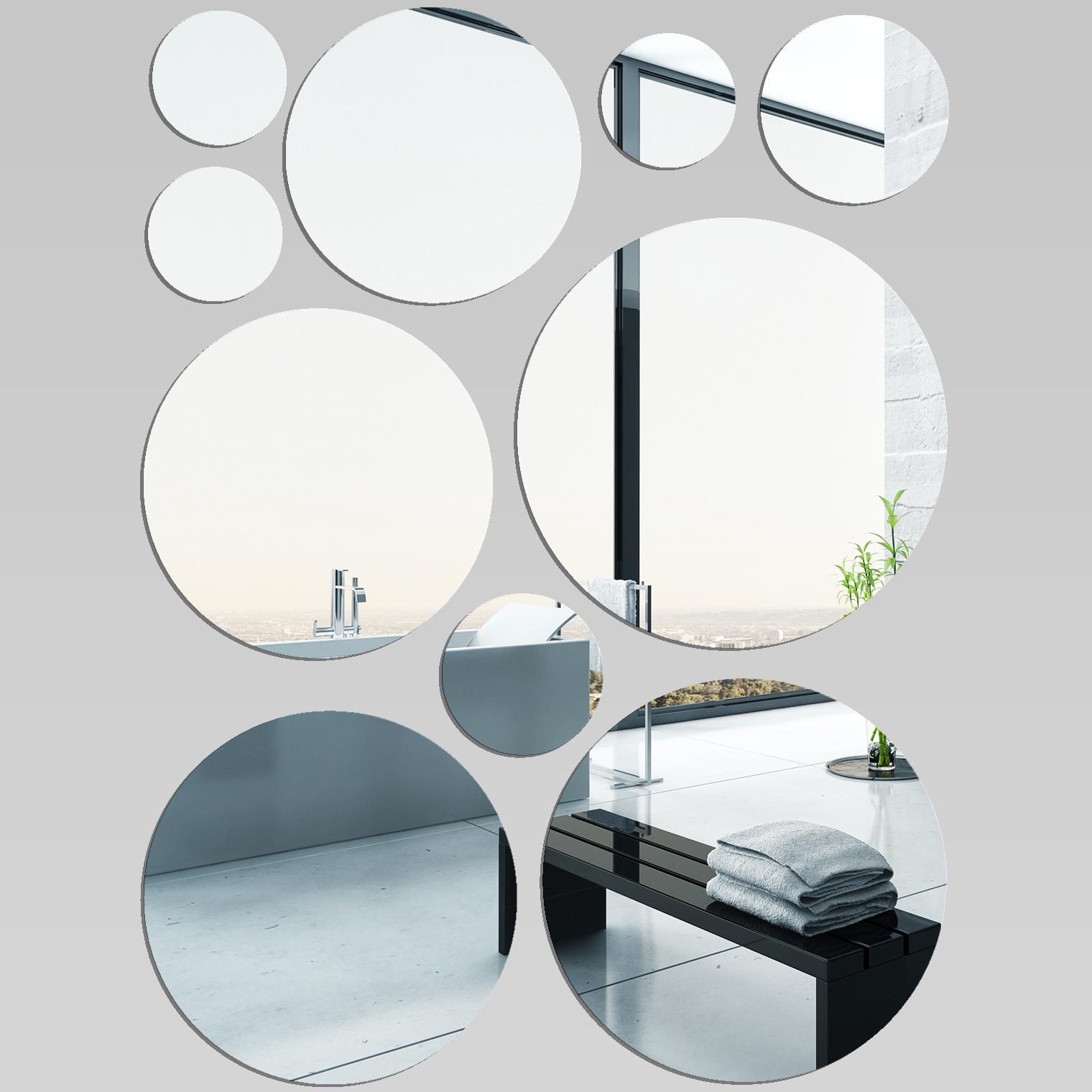Miroir plexiglass acrylique ronds minimaxi pas cher for Miroir en acrylique