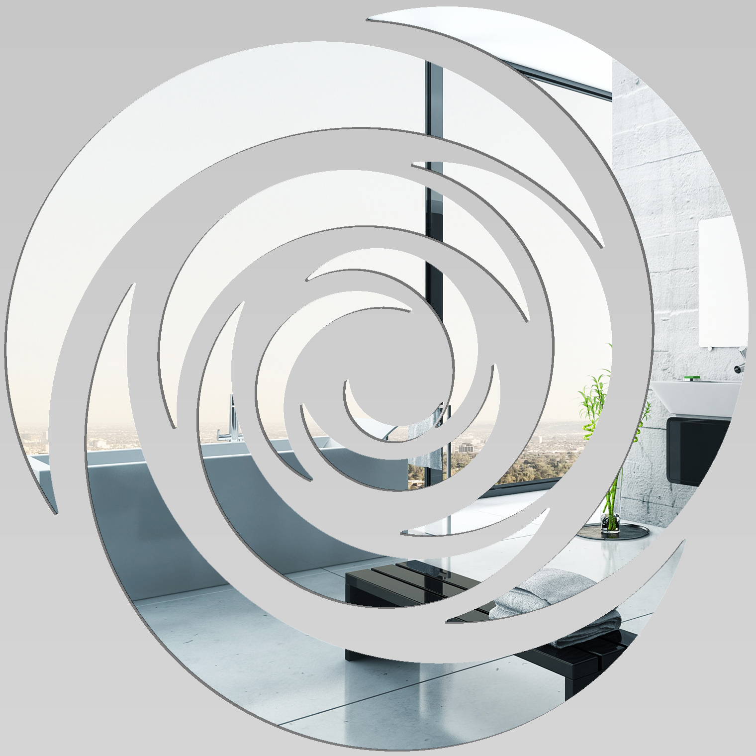 Miroir plexiglass acrylique rose design pas cher - Miroir pas cher design ...