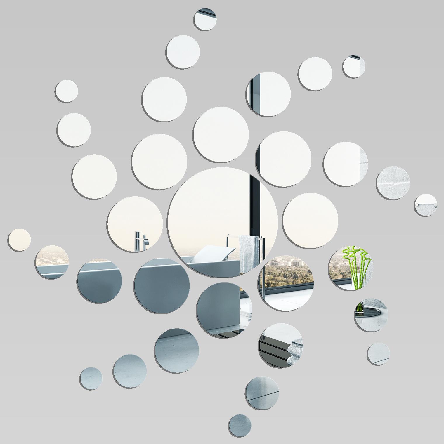 Miroir plexiglass acrylique spirale pas cher for Cuadros con espejos redondos