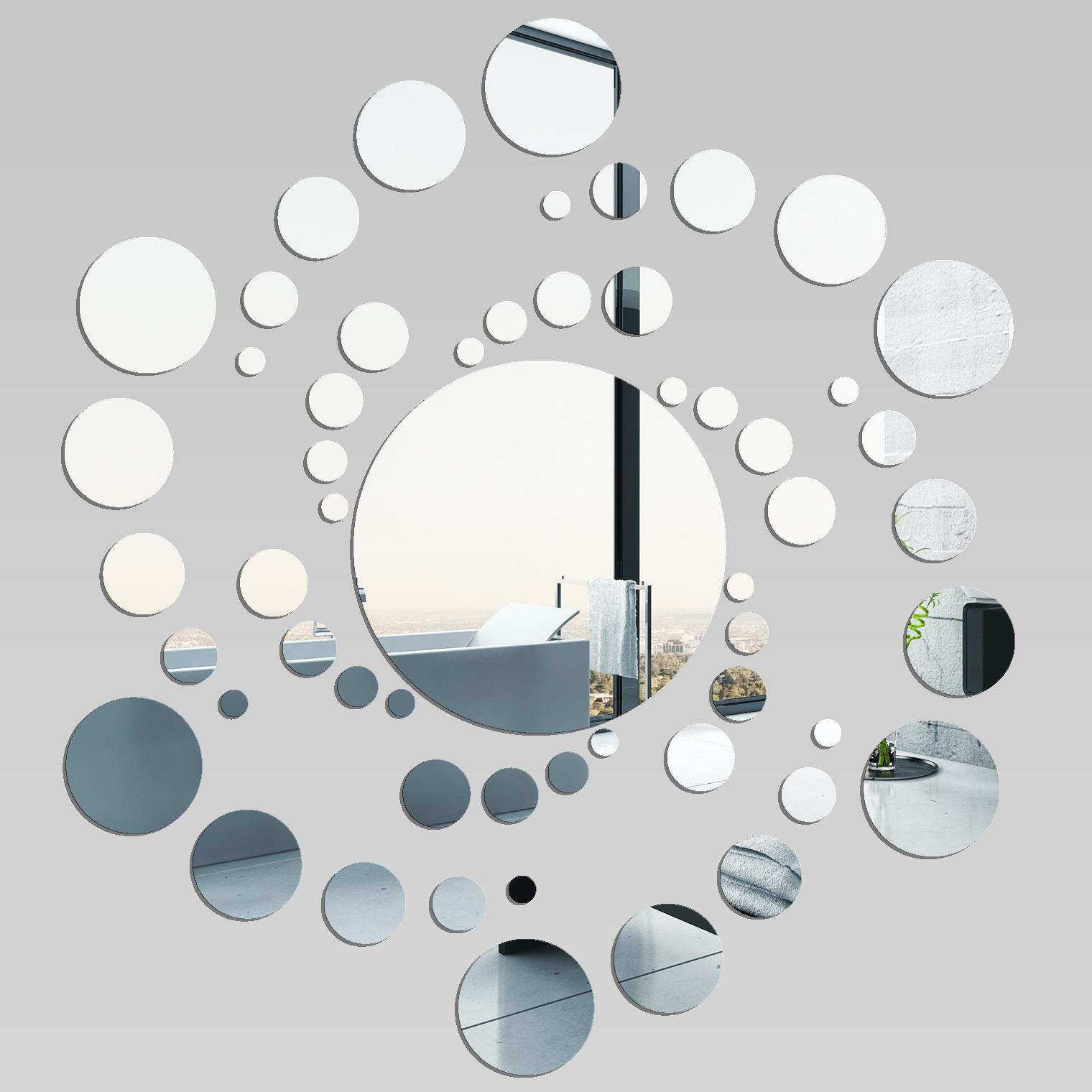 Miroir plexiglass acrylique spirale 3 pas cher for Miroir acrylique