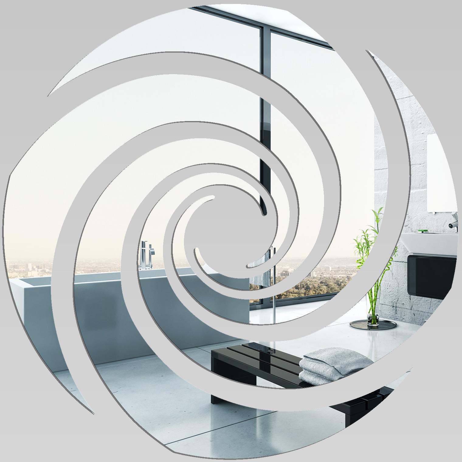 Miroir plexiglass acrylique spirale 6 pas cher for Miroir 90x90
