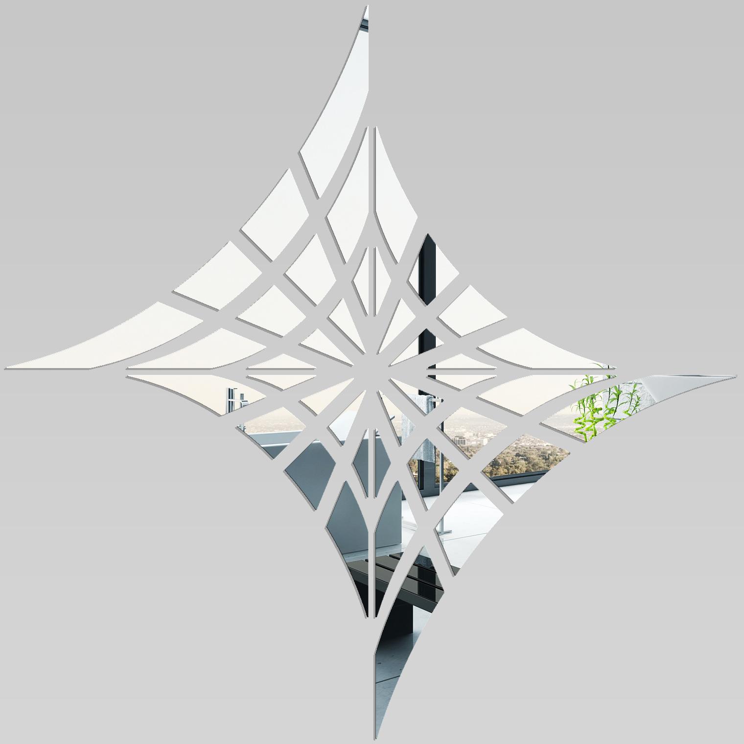 Miroir plexiglass acrylique toile d 39 araign e pas cher for Stickers miroir pas cher