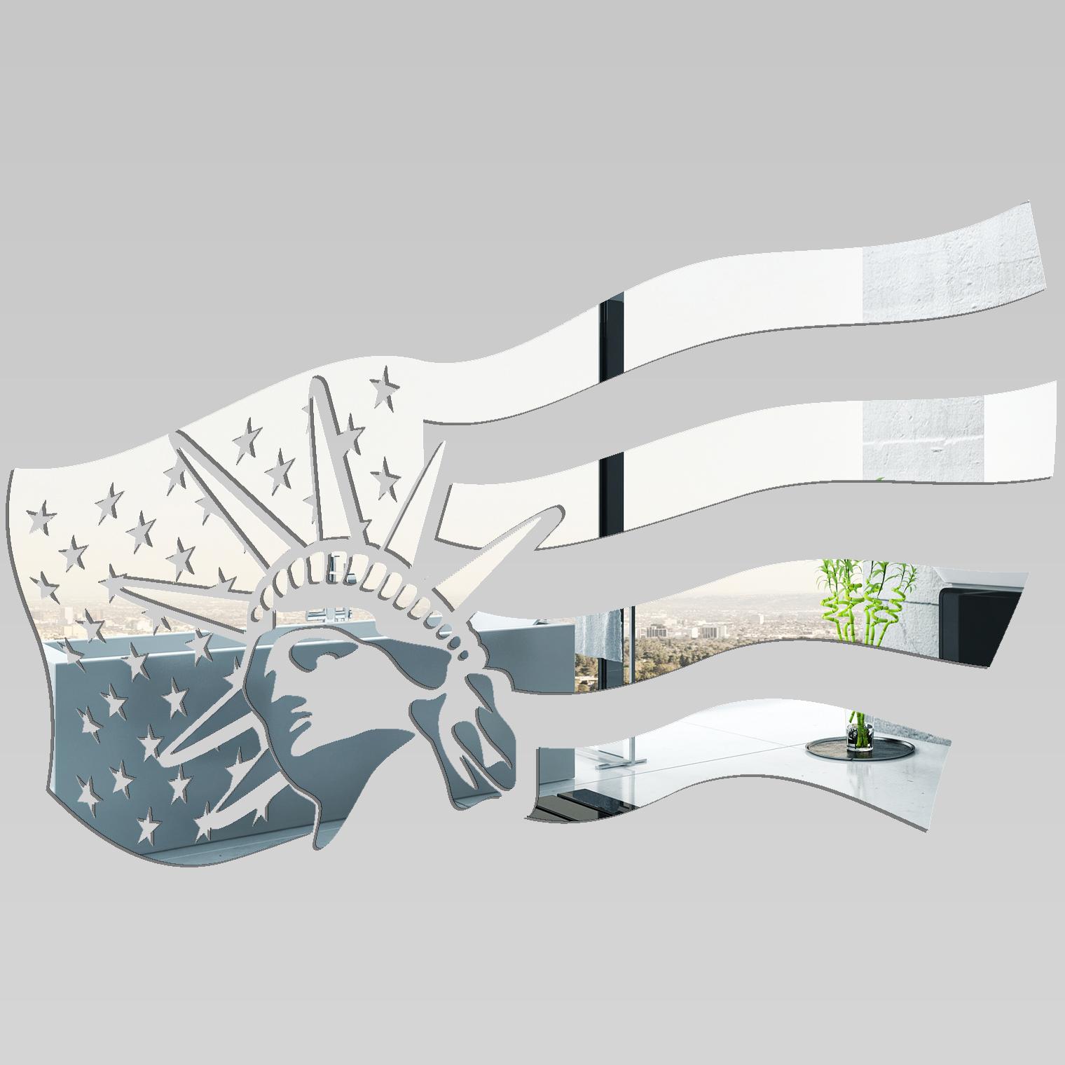 Miroir plexiglass acrylique united state pas cher for Miroir acrylique