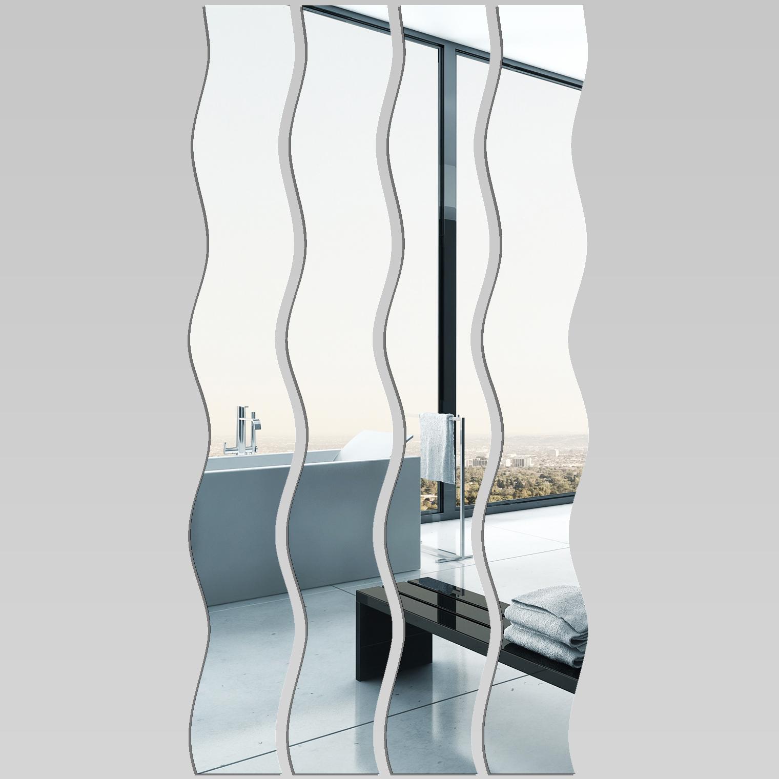Miroir plexiglass acrylique verticales 1 pas cher for Miroir acrylique