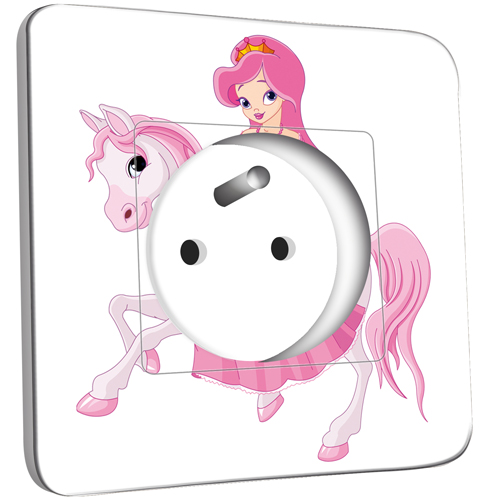 Prise d cor e princesse cheval pas cher - Princesse cheval ...