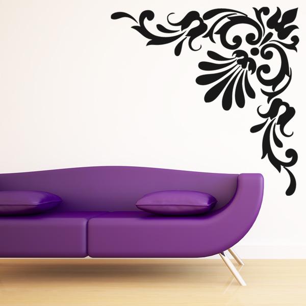 sticker baroque 7 pas cher. Black Bedroom Furniture Sets. Home Design Ideas