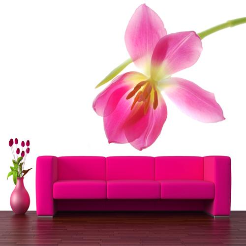 Sticker fleur 26 pas cher for Offrir des fleurs par internet pas cher