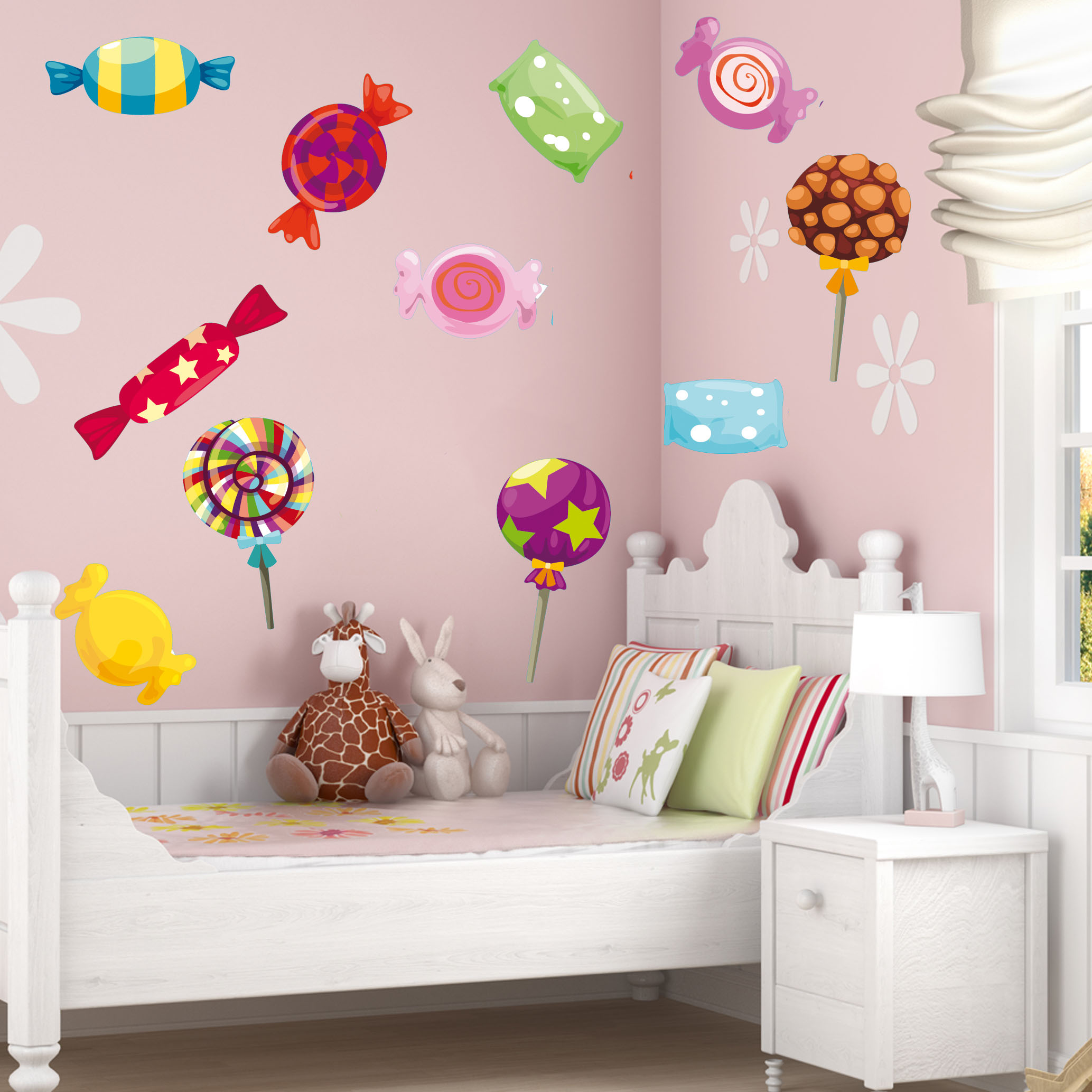 stickers 15 bonbons pas cher. Black Bedroom Furniture Sets. Home Design Ideas