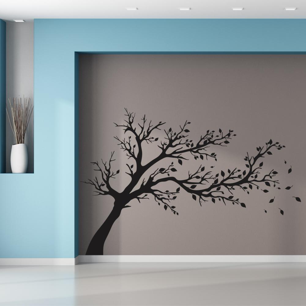 Stickers arbre pas cher for Peinture chambre zen nature