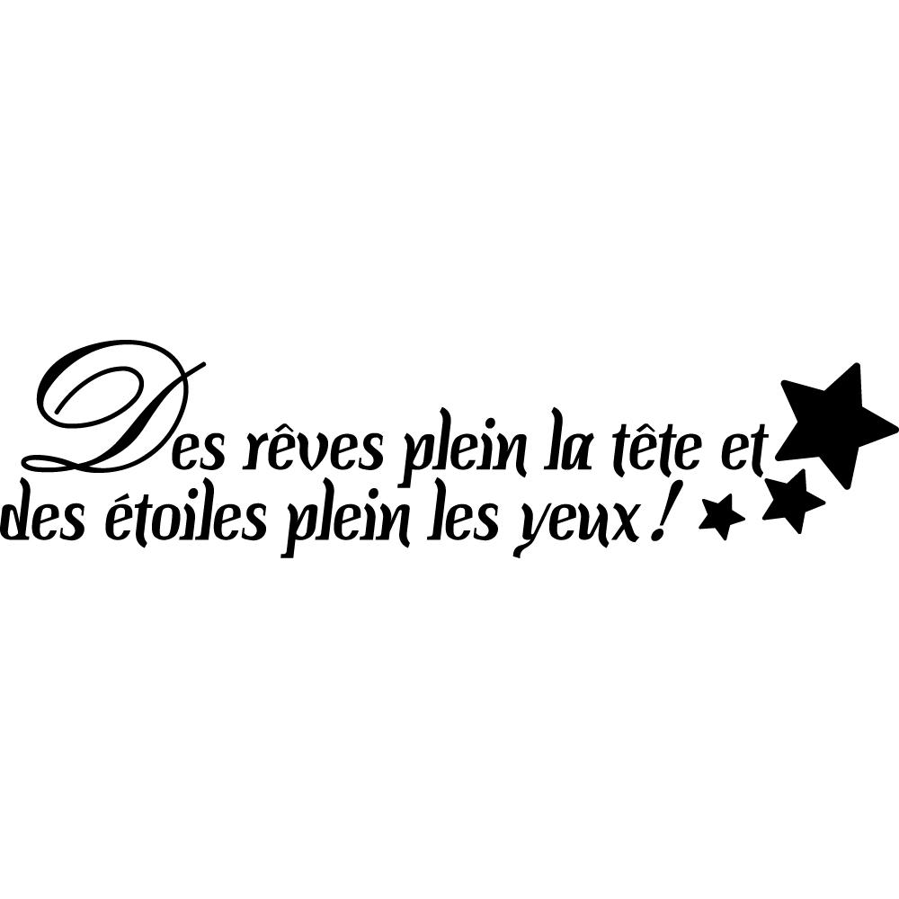 Stickers Citation Reves Pas Cher
