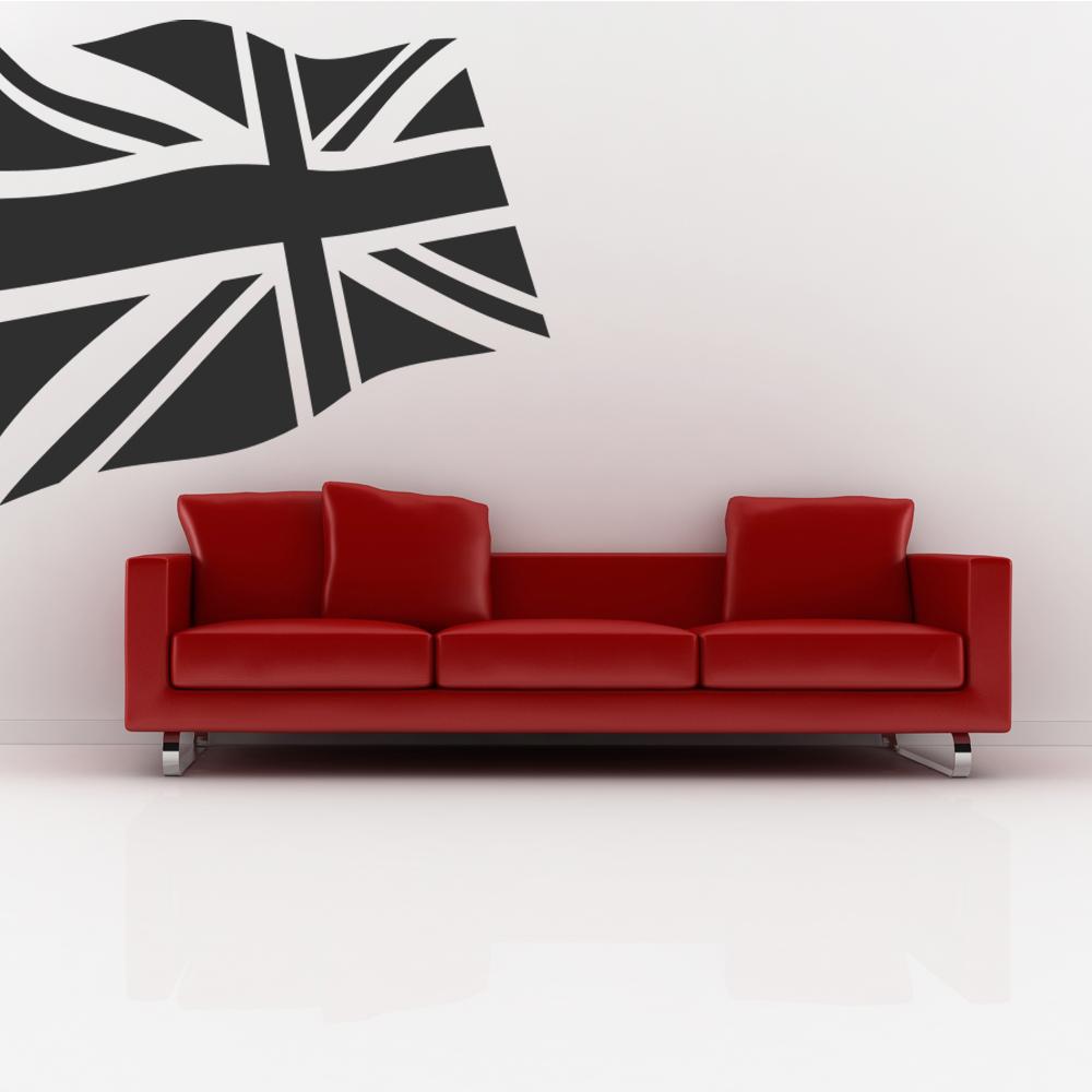 Stickers drapeau anglais pas cher - Couleur bordeau en anglais ...