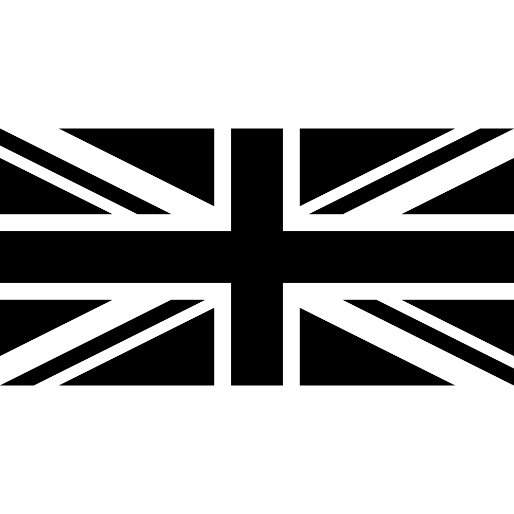 Stickers drapeau anglais pas cher - Drapeau anglais gris ...