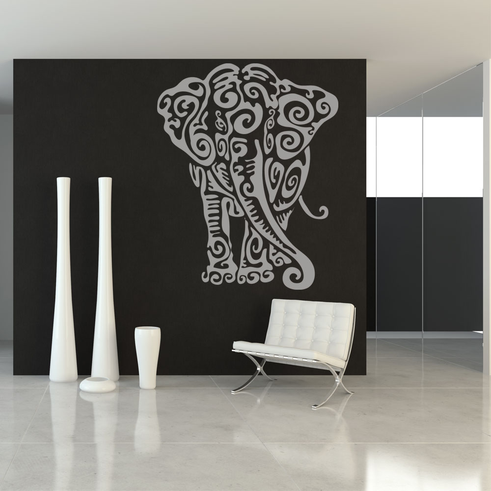 stickers l phant pas cher. Black Bedroom Furniture Sets. Home Design Ideas