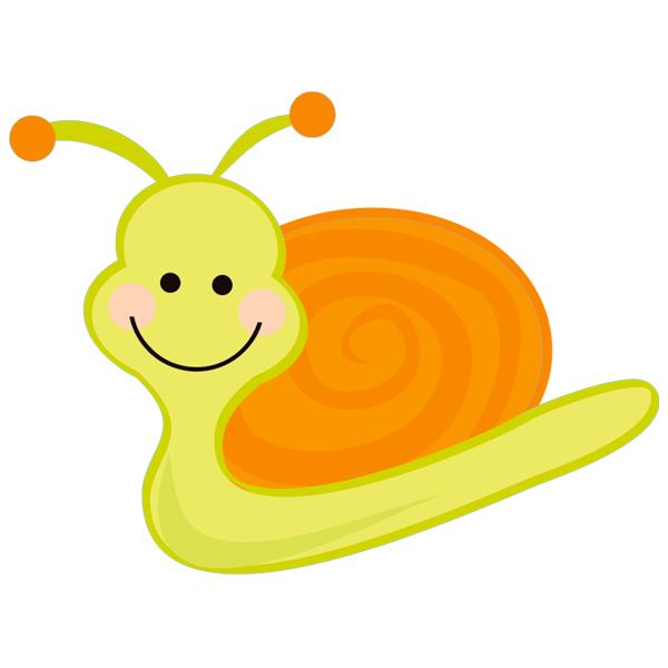 Stickers escargot pas cher - Dessin d un escargot ...