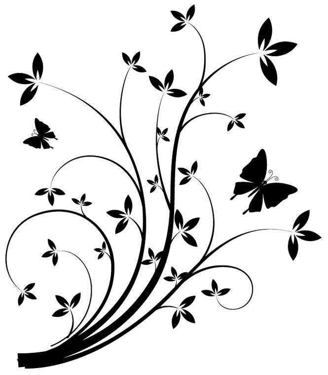 Stickers fleur pas cher - Carte grise 3x sans frais ...