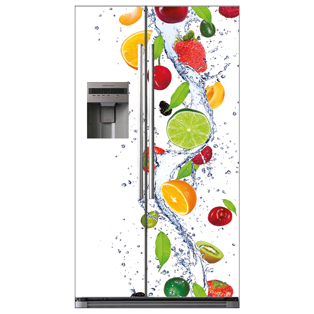 Stickers frigo am ricain pas cher - Frigo americain dimension ...