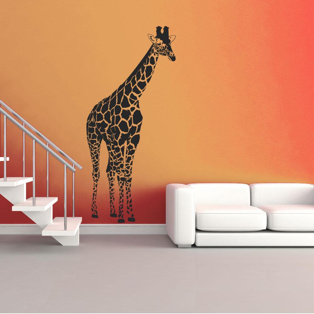 Stickers Girafe Pas Cher