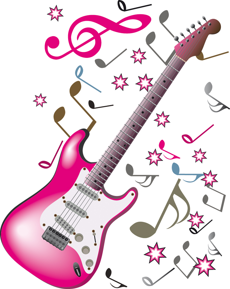 stickers guitare notes de musique pas cher clip art music notes purple clip art music notes for piano