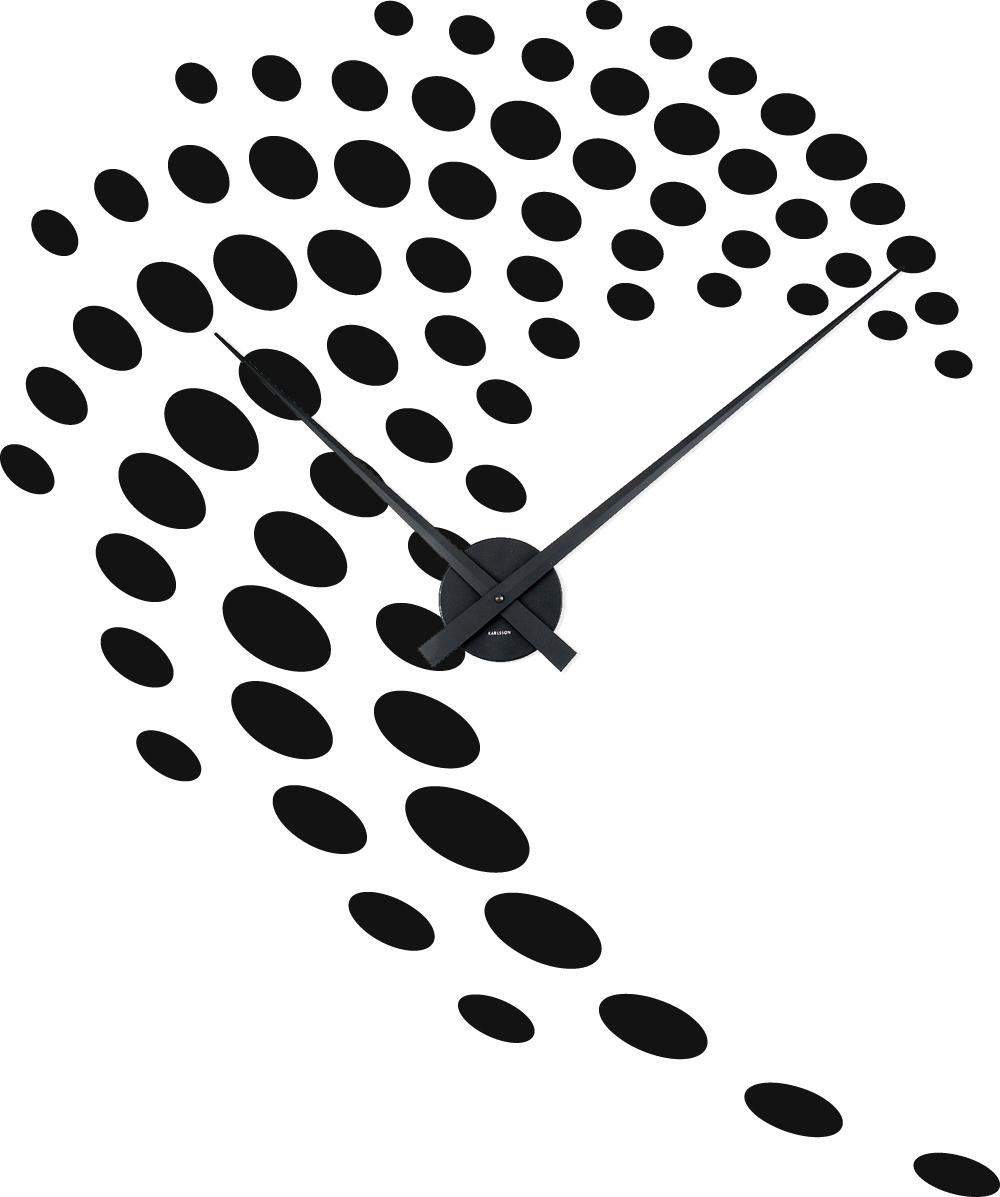 stickers horloge design pas cher. Black Bedroom Furniture Sets. Home Design Ideas