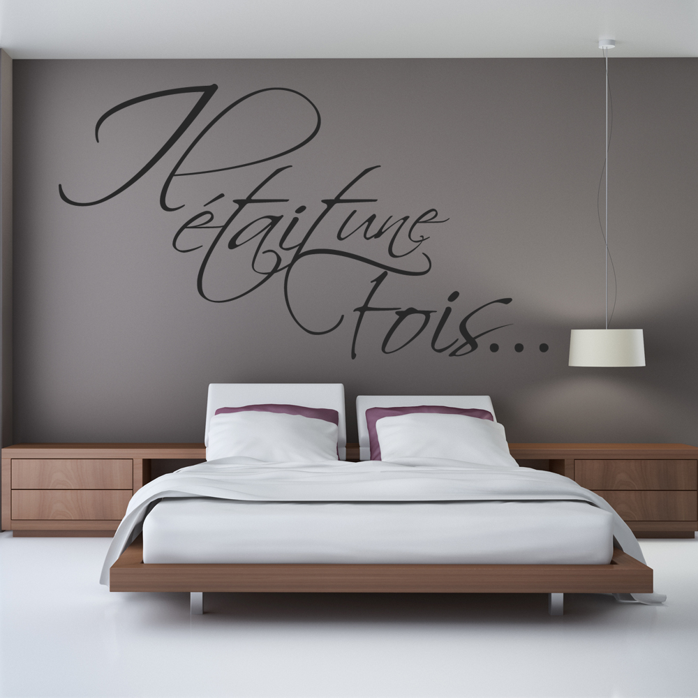 stickers il tait une fois pas cher. Black Bedroom Furniture Sets. Home Design Ideas