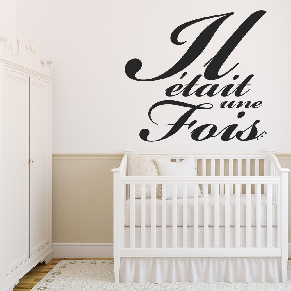 stickers il tait une fois pas cher. Black Bedroom Furniture Sets. Home Design Ideas