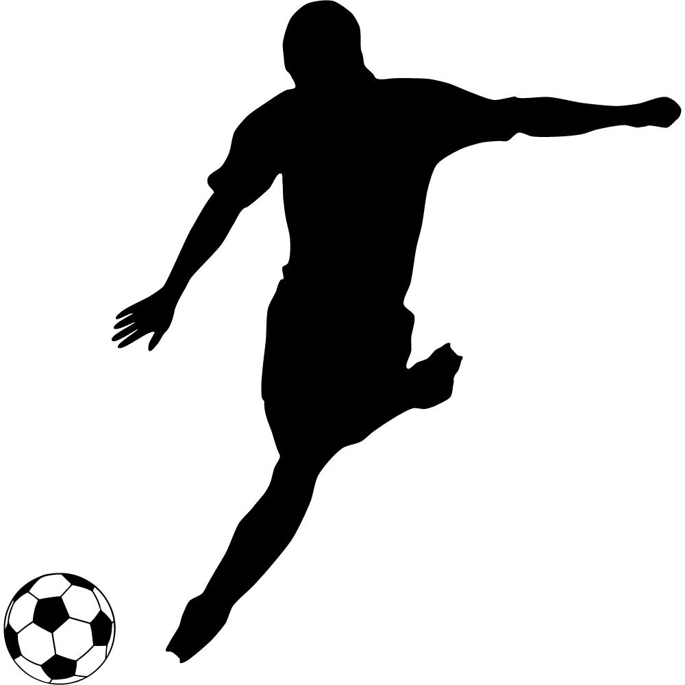 Stickers joueur foot pas cher - Image de joueur de foot a imprimer ...