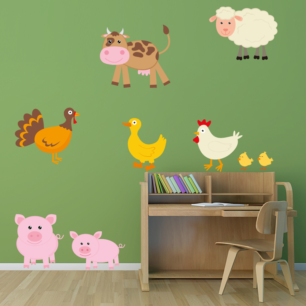 Stickers chambre bebe garcon jungle for Stickers chambre bebe garcon pas cher
