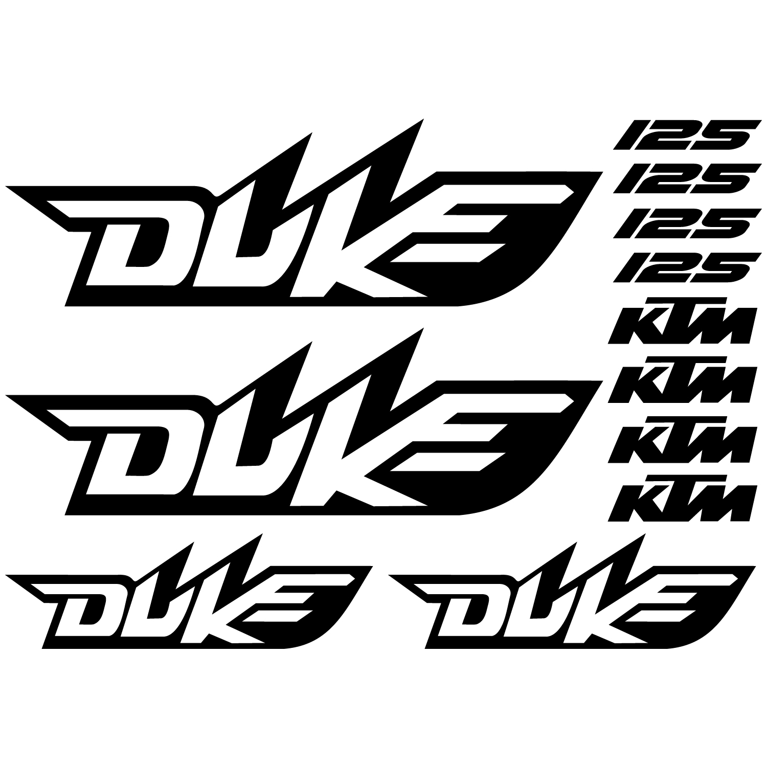 stickers ktm 125 duke pas cher