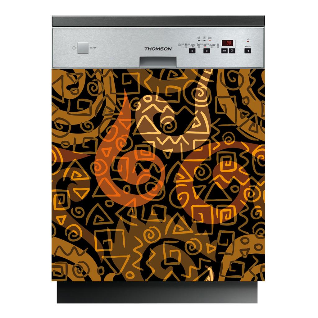 Stickers lave vaisselle design pas cher for Stickers pour lave vaisselle