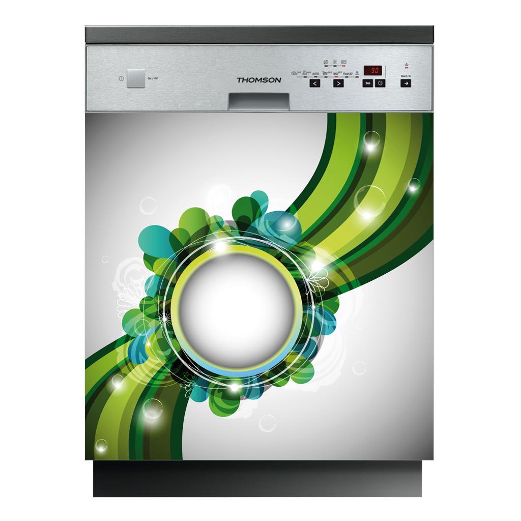 stickers lave vaisselle design pas cher. Black Bedroom Furniture Sets. Home Design Ideas