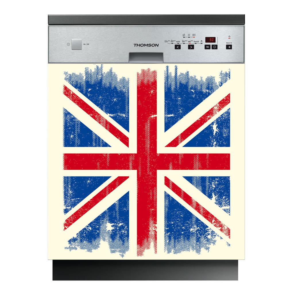 Stickers lave vaisselle drapeau anglais pas cher - Vaisselle style anglais ...