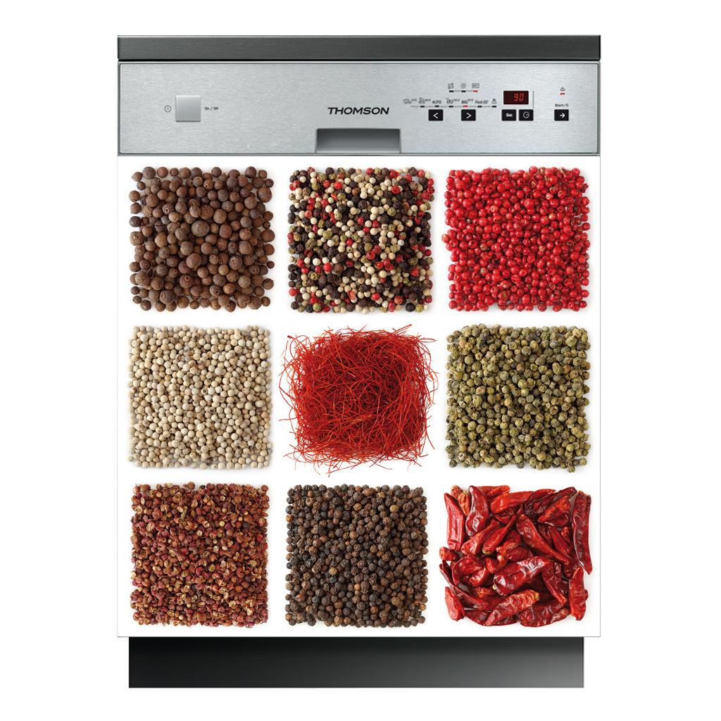 Stickers lave vaisselle pices pas cher for Stickers pour lave vaisselle
