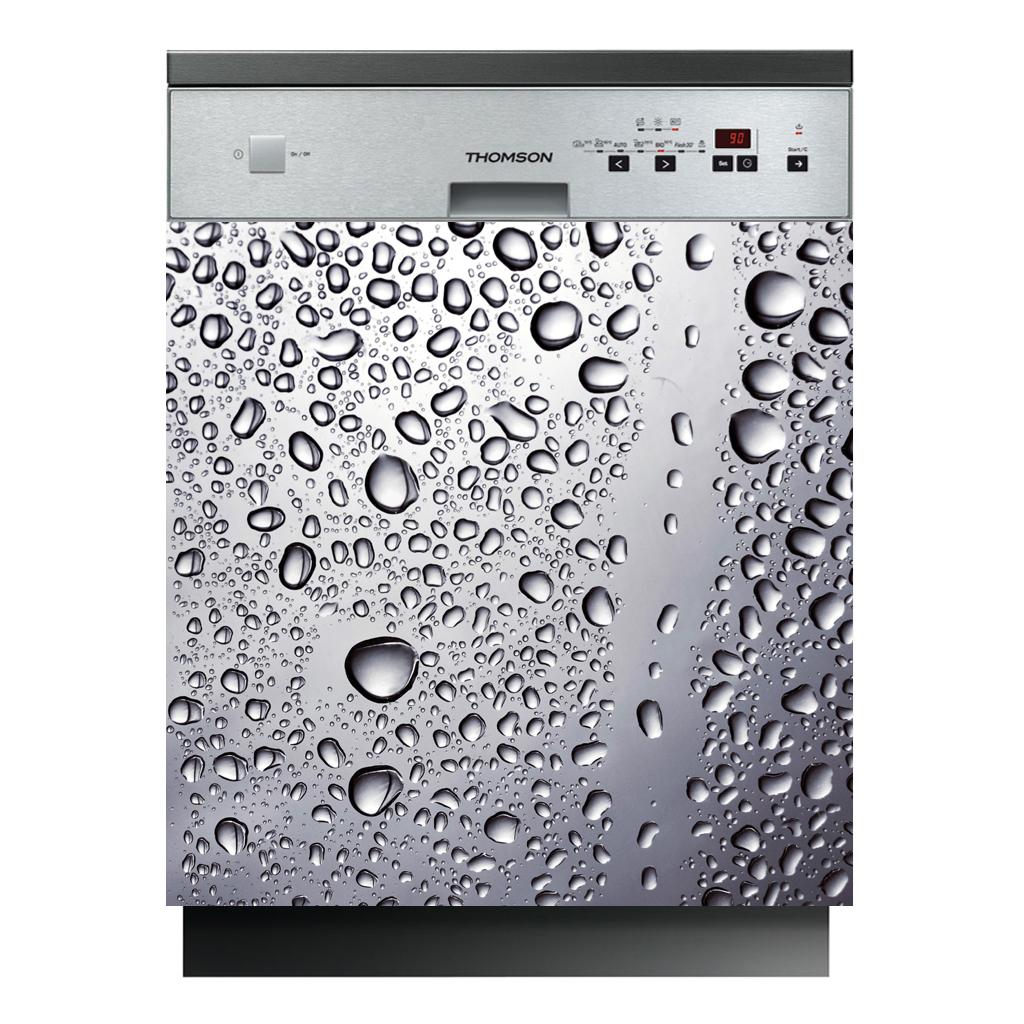 Stickers lave vaisselle goutte d 39 eau pas cher - Lave vaisselle economique en eau ...