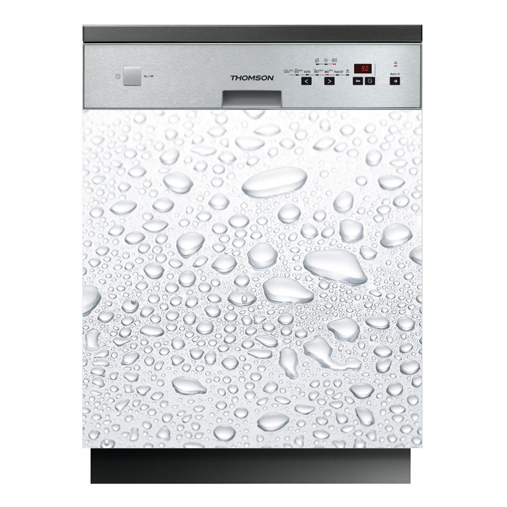 Stickers lave vaisselle gouttes d 39 eau pas cher for Sticker pour lave vaisselle