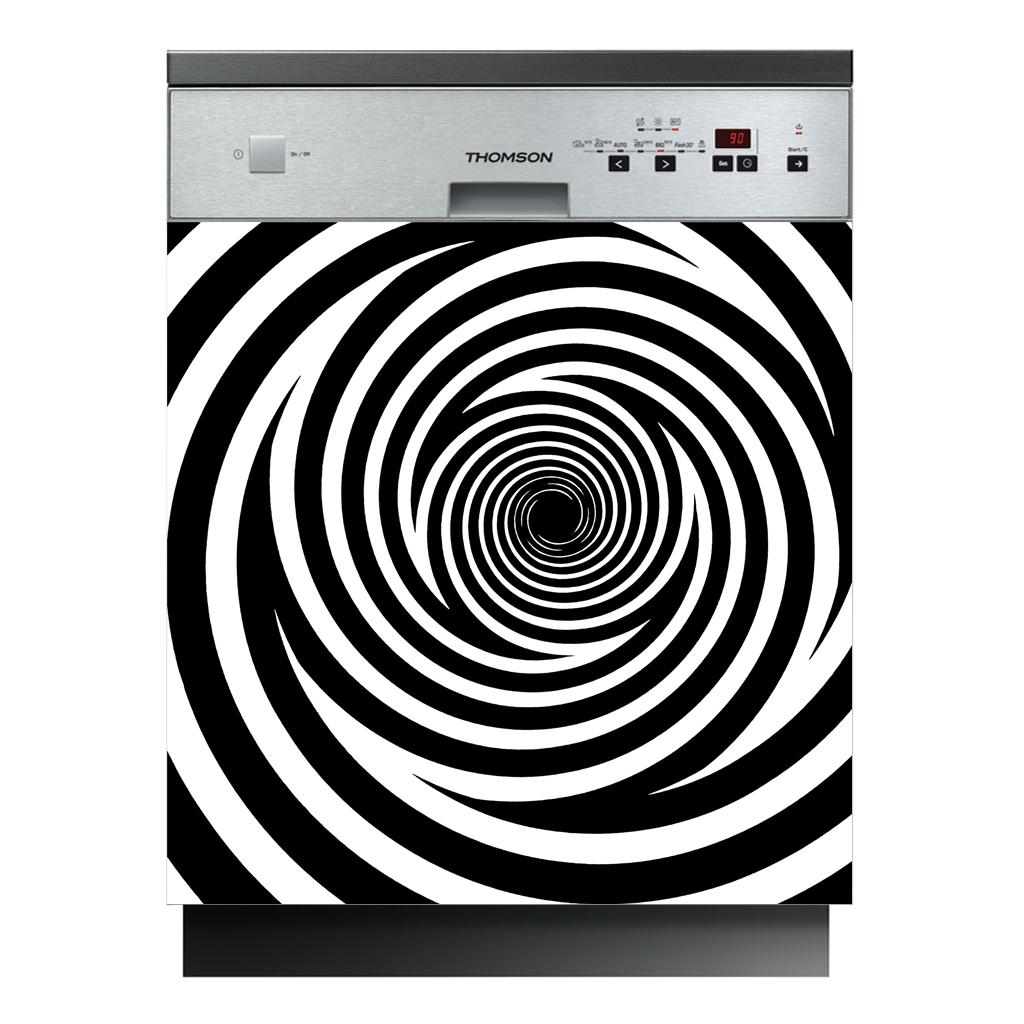 stickers lave vaisselle tourbillon pas cher. Black Bedroom Furniture Sets. Home Design Ideas
