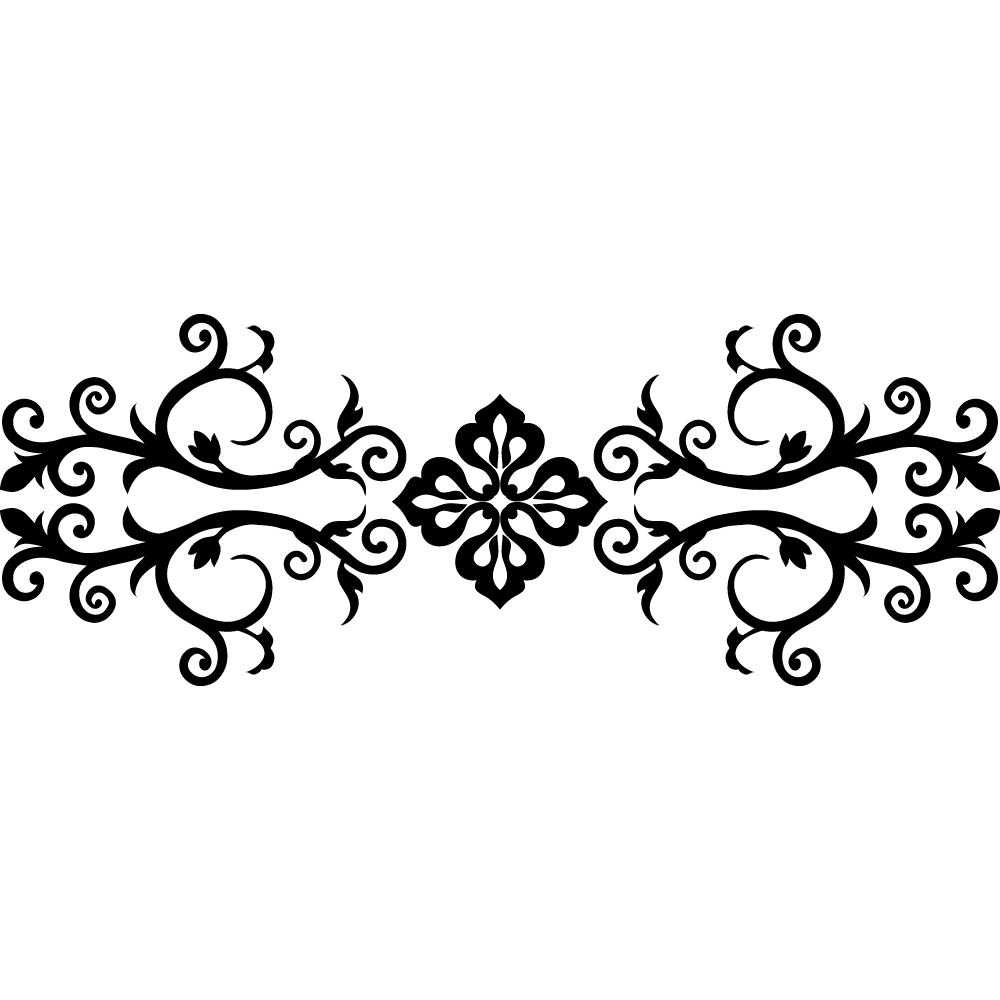 Stickers oriental pas cher for Sticker porte orientale