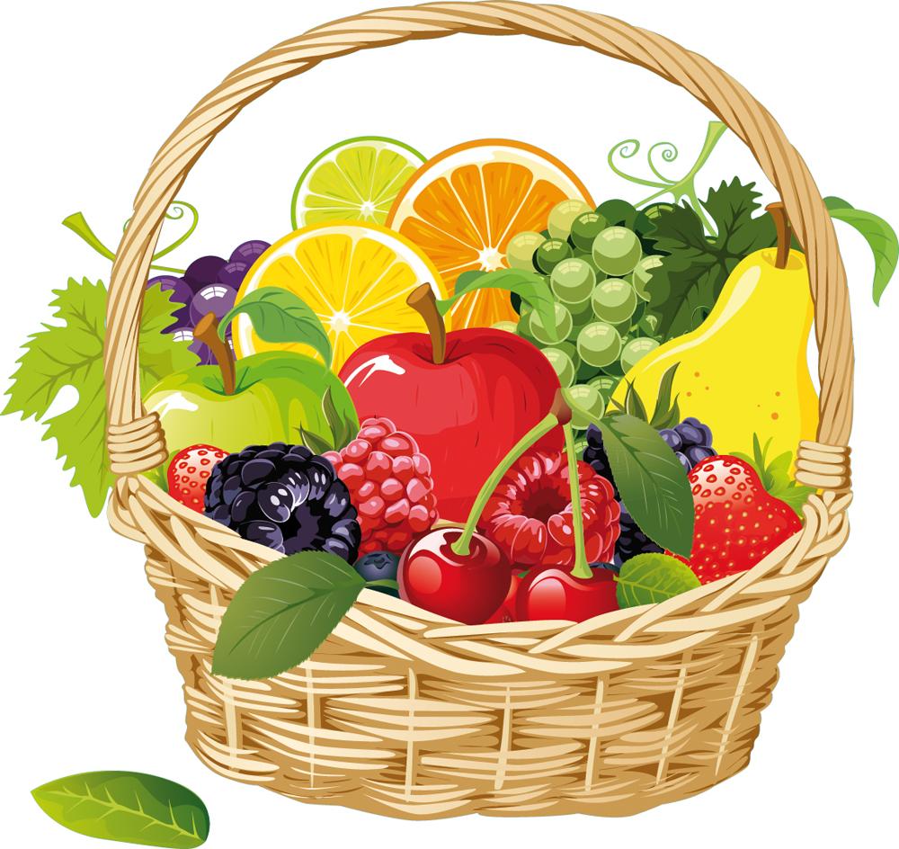 Panier A Fruit Pas Cher : Stickers panier fruits pas cher