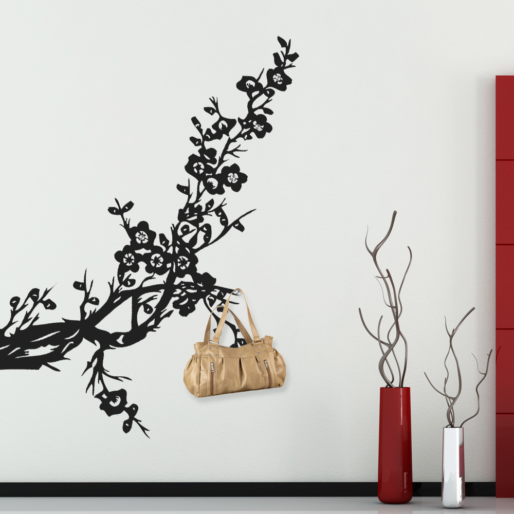 stickers porte manteau arbre pas cher. Black Bedroom Furniture Sets. Home Design Ideas
