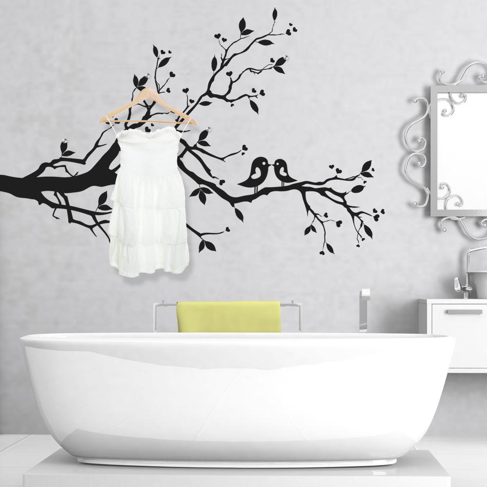 stickers porte manteau arbre pas cher. Black Bedroom Furniture Sets. Home Design Ideas