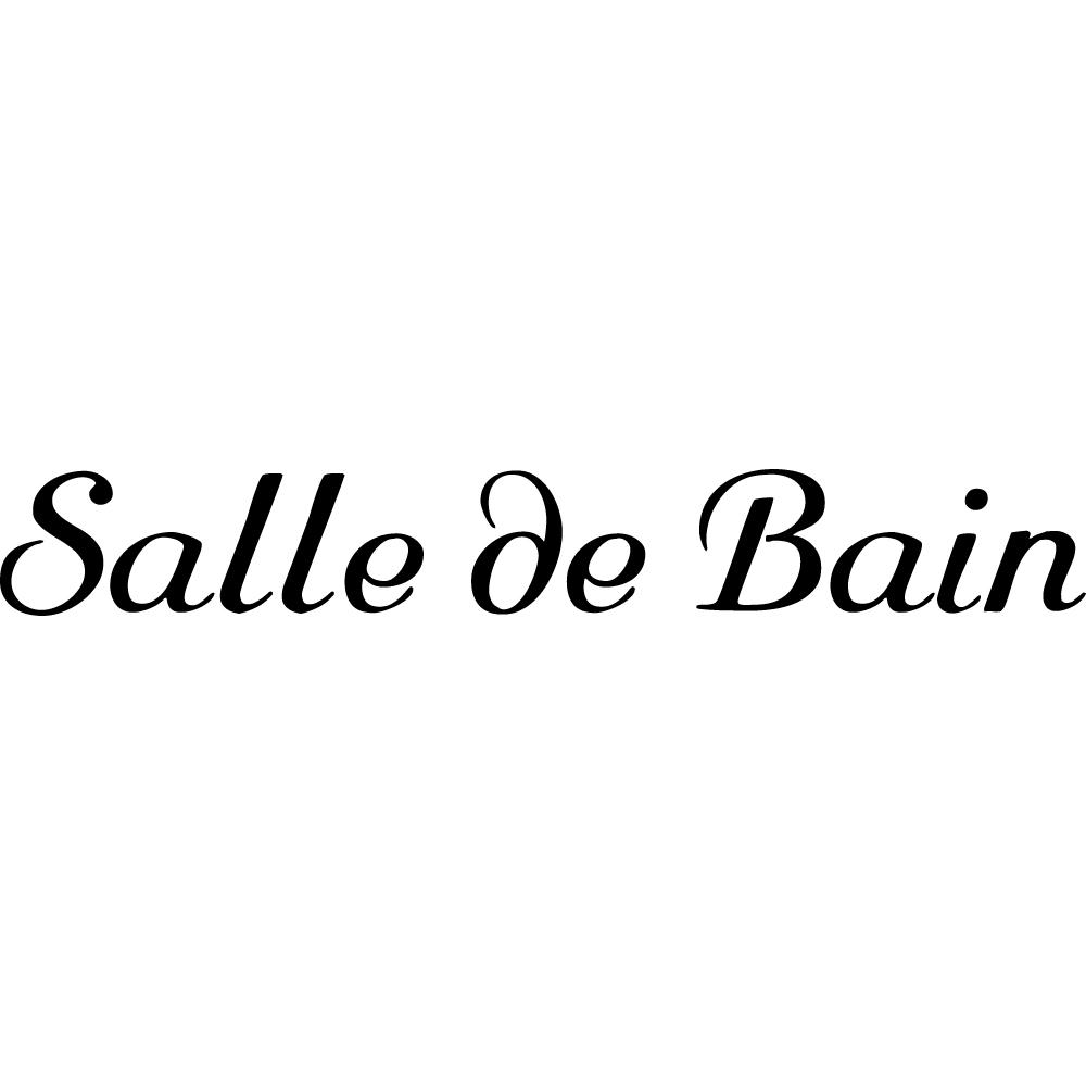 Salle De Bain Minerale ~ Stickers Salle De Bain Pas Cher