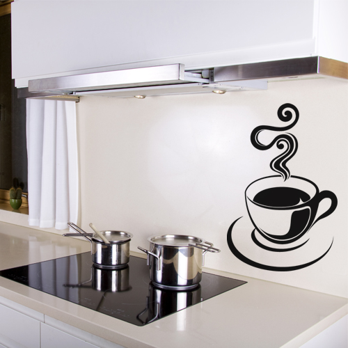 stickers tasse a caf pas cher. Black Bedroom Furniture Sets. Home Design Ideas