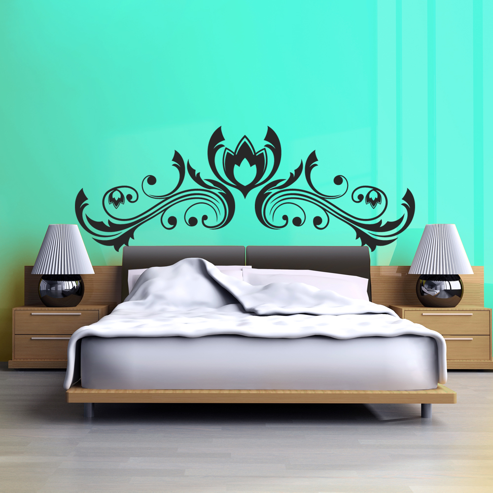 stickers t te de lit pas cher. Black Bedroom Furniture Sets. Home Design Ideas