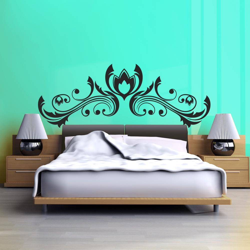 tete de lit stickers. Black Bedroom Furniture Sets. Home Design Ideas