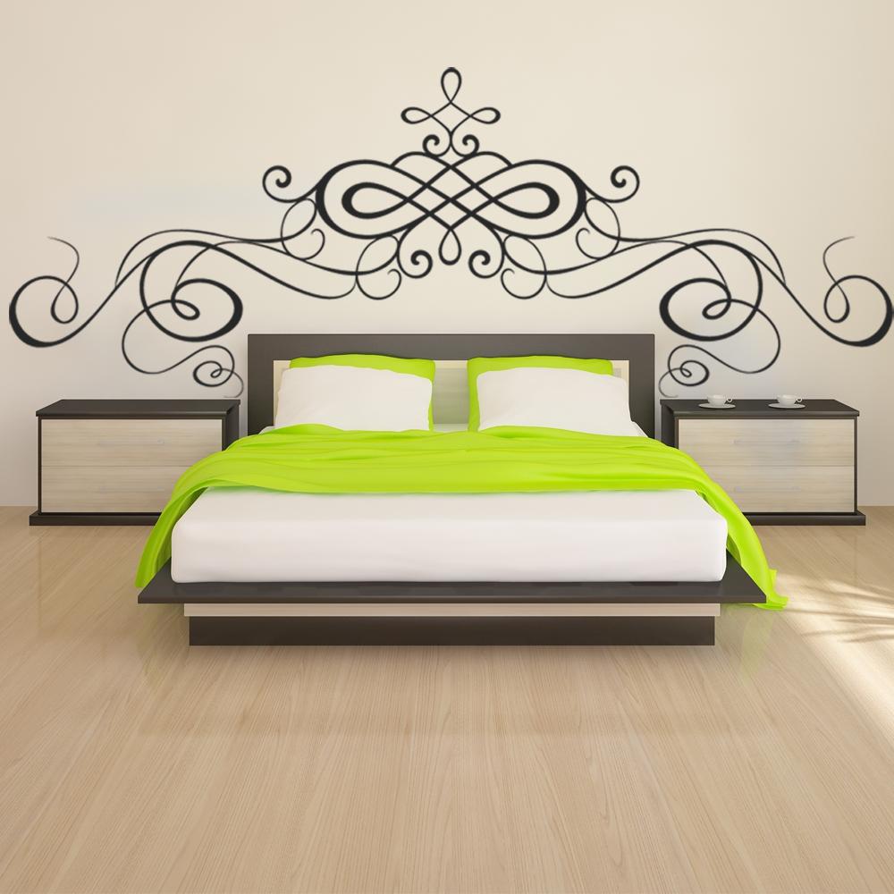 stickers t te de lit pas cher. Black Bedroom Furniture Sets. Home Design Ideas
