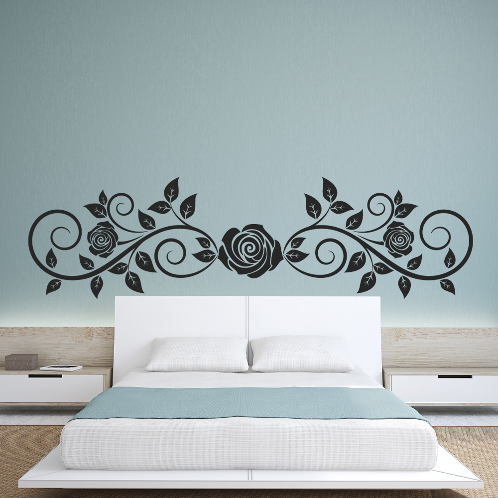 stickers tete de lit. Black Bedroom Furniture Sets. Home Design Ideas