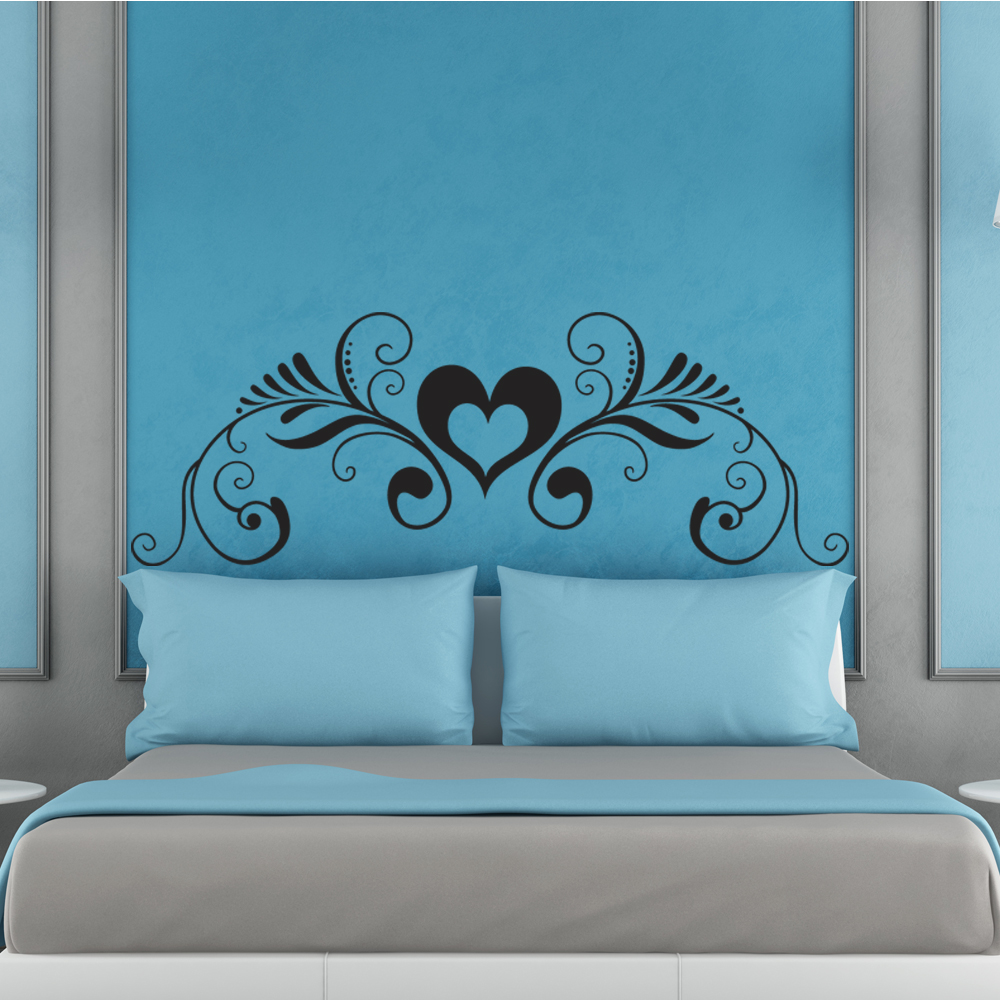 stickers tete de lit pas cher maison design. Black Bedroom Furniture Sets. Home Design Ideas
